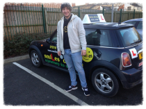 Passed Driving Test in Loughborough